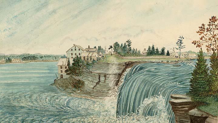 McKay Mills circa 1845, courtesy of Archives Ontario